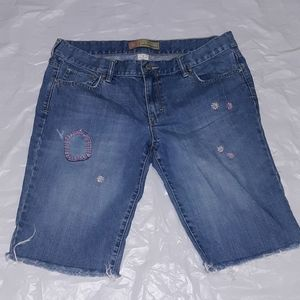 Old Navy Womens Low Waist Denim Shorts Size 12